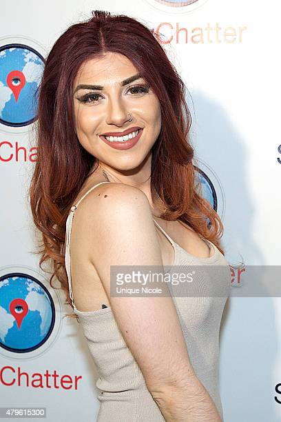 Singer Alexa Ferr attends the Spychatter App Launch Party at The Argyle on June 30 2015 in Hollywood California
