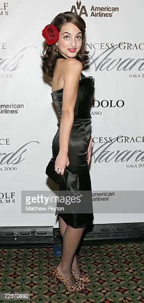 Singer Alexa Ray Joel attends the 2006 Princess Grace FoundationUSA Awards Gala at Cipriani 42nd Street November 2 2006 in New York City