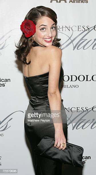 Singer Alexa Ray Joel attends the 2006 Princess Grace FoundationUSA Awards Gala at Cipriani 42nd Street November 2 2006 in New York City