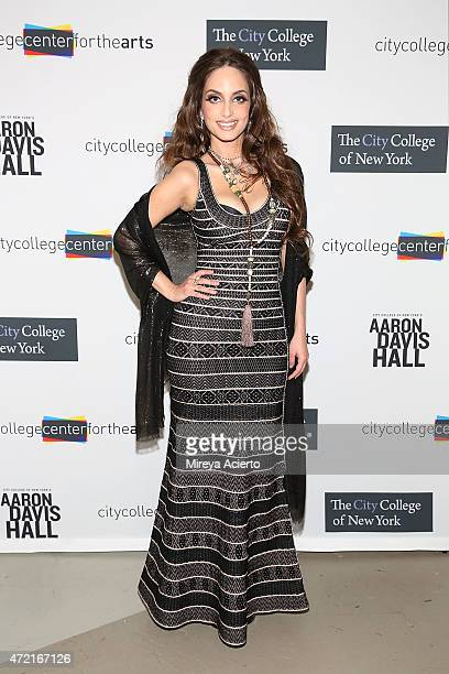Singer Alexa Ray Joel attends the City College Center For the Arts 2015 Awards Benefit at Aaron Davis Hall at the City College of New York on May 4...