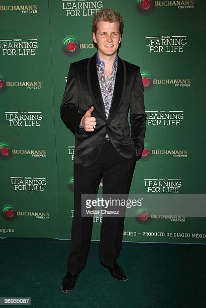 Singer Alexander Acha attends the Buchanan's Forever 2010: Learning For Life at Colegio de las Vizcainas on May 8, 2010 in Mexico City, Mexico.