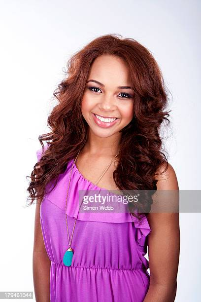 Singer Alexis Jordan is photographed for Bliss magazine on June 24 2011 in London England