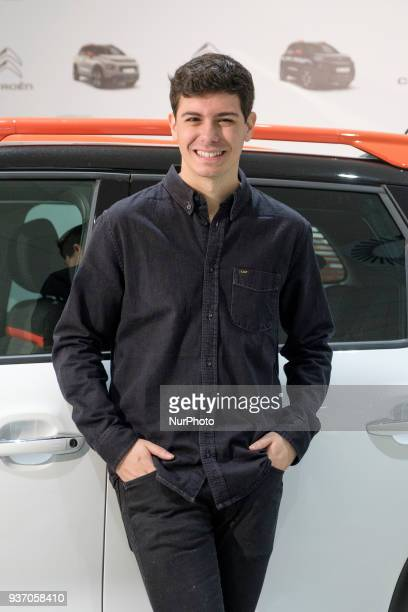 OT Singer Alfred Garcia presents new SUV compacto Citroen C3 Aircross on March 23 2018 in Madrid Spain
