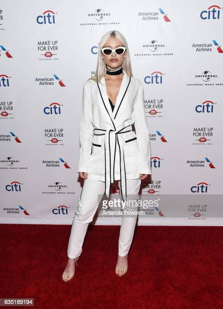 Singer Alice Chater arrives at the Universal Music Group's 2017 GRAMMY After Party at The Theatre at Ace Hotel on February 12 2017 in Los Angeles...