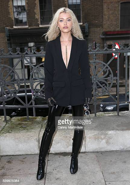 Singer Alice Chater attends the Joshua Kane x LAB SERIES show during The London Collections Men SS17 at on June 13 2016 in London England