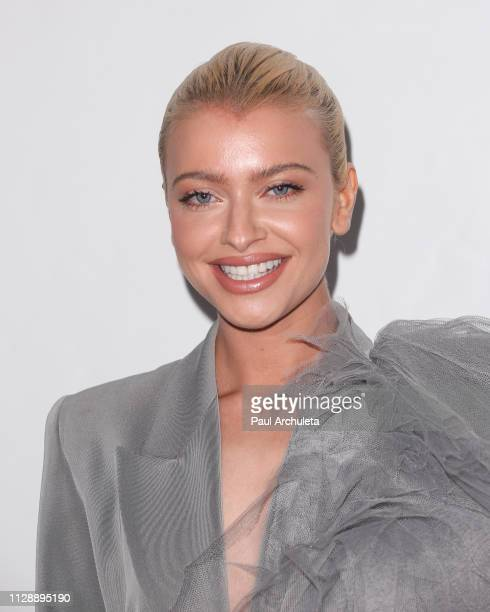 Singer Alice Chater attends the Universal Music Group's 2019 after party to celebrate The GRAMMYs at ROW DTLA on February 10 2019 in Los Angeles...