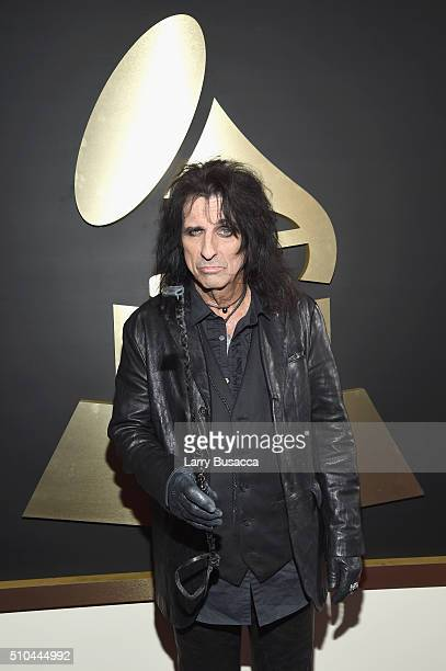 Singer Alice Cooper attends The 58th GRAMMY Awards at Staples Center on February 15 2016 in Los Angeles California