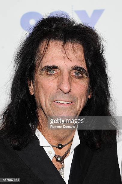 Singer Alice Cooper attends the 92Y Presents Super Duper Alice Cooper Screening and Conversation Alice Cooper and Anthony DeCurtis at 92nd Street Y...