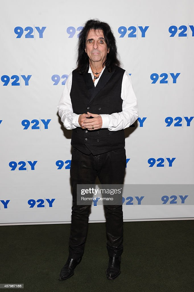 "92Y Presents: ""Super Duper Alice Cooper"" Screening And Conversation Alice Cooper And Anthony DeCurtis"