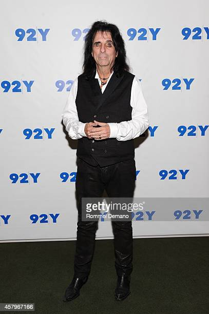 Singer Alice Cooper attends the 92Y Presents 'Super Duper Alice Cooper' Screening and Conversation Alice Cooper and Anthony DeCurtis at 92nd Street Y...
