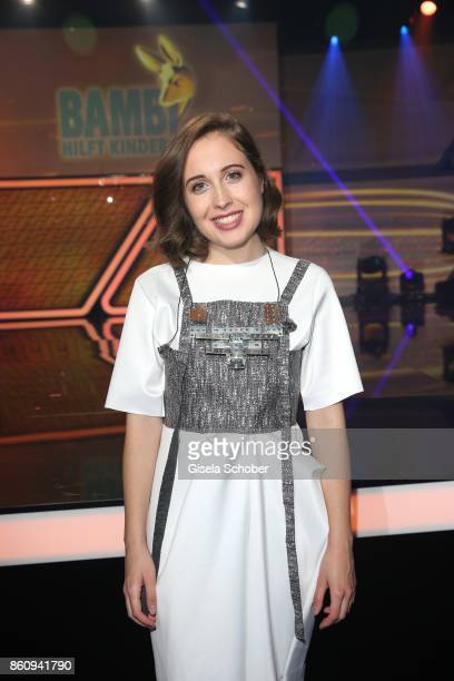 Singer Alice Merton during the 'Tribute To Bambi' gala at Station on October 5 2017 in Berlin Germany
