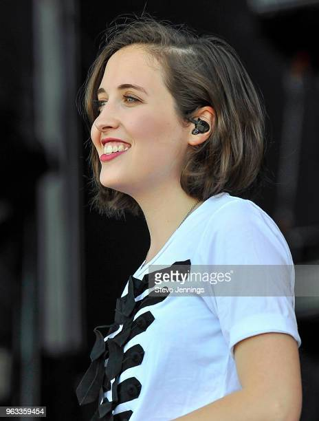 Singer Alice Merton performs on Day 3 of BottleRock Napa Valley Music Festival at Napa Valley Expo on May 27 2018 in Napa California