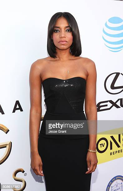 Singer Alice Smith attends the 47th NAACP Image Awards presented by TV One at Pasadena Civic Auditorium on February 5 2016 in Pasadena California