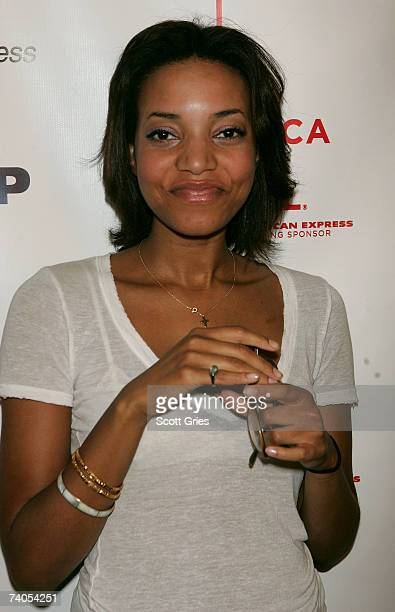 Singer Alice Smith poses at the ASCAP Tribeca Music Lounge held at the Canal Room during the 2007 Tribeca Film Festival on May 2 2007 in New York City