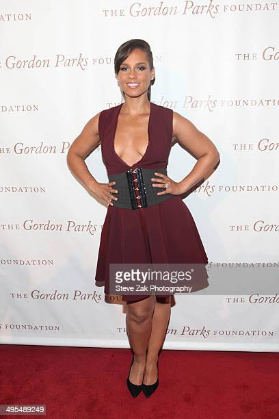 Singer Alicia Keys attends 2014 Gordon Parks Foundation awards dinner>> at Cipriani Wall Street on June 3 2014 in New York City