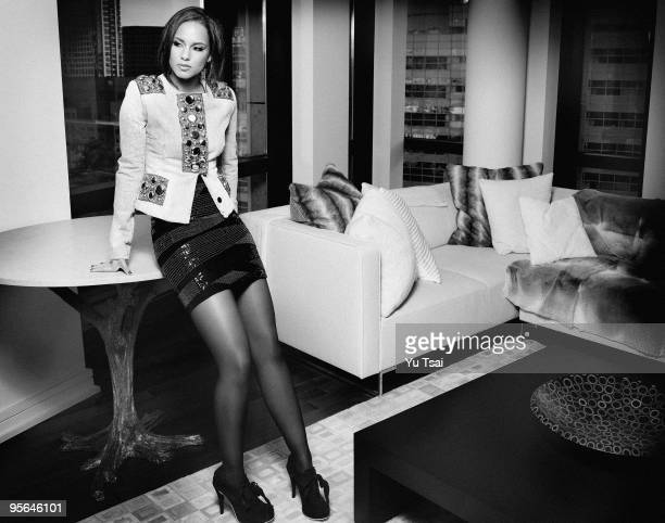 Singer Alicia Keys is photographed for Giant Magazine PUBLISHED IMAGE