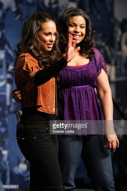 Singer Alicia Keys will sing the pregame show and singer Jordin Sparks will sing the national anthem prior to Super Bowl XLII at the Phoenix...