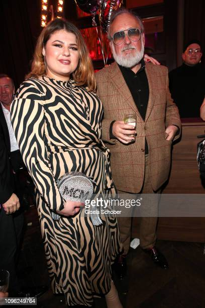 Singer Alina Wichmann and Friedrich Liechtenstein during the BUNTE BMW Festival Night at Restaurant Gendarmerie during the 69th Berlinale...