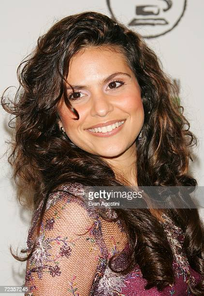 Singer Aline Barros attends the 7th Annual Latin Grammy Awards at Madison Square Garden November 2 2006 in New York City