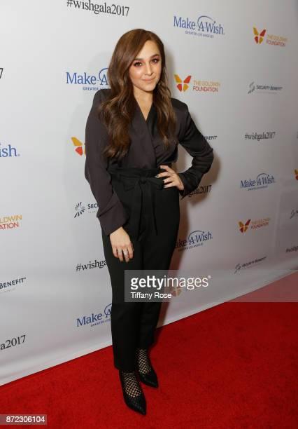 Singer Alisan Porter at the 2017 Make a Wish Gala on November 9 2017 in Los Angeles California