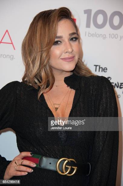 """Singer Alisan Porter attends the American Red Cross Centennial Celebration to Honor Disney as the """"Humanitarian Company of The Year"""" at the Beverly..."""