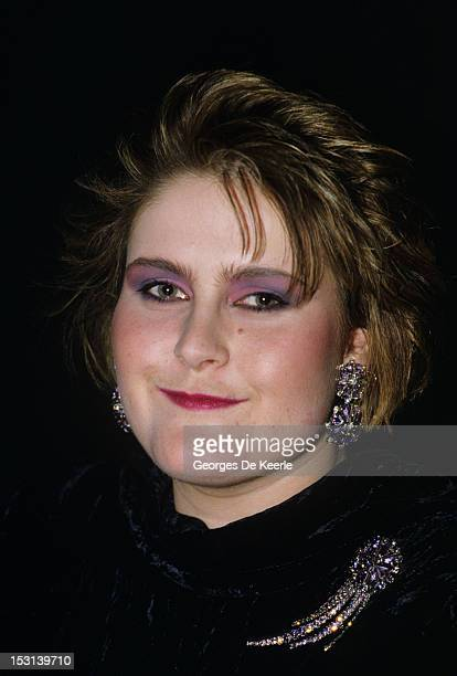 Singer Alison Moyet attends the British Record Industry Awards aka the BRIT Awards at the Grosvenor House Hotel in London on February 11 1985