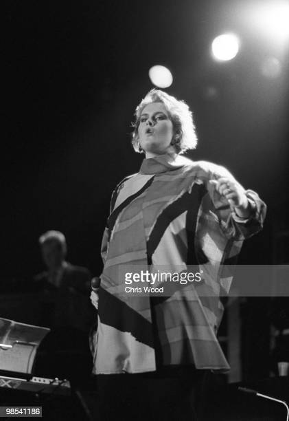 Singer Alison Moyet performing 23rd November 1984 Formerly the singer with 'Yazoo' Moyet went on to record as a solo artist