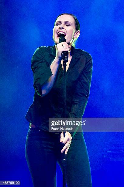 Singer Alison Moyet performs at the Huxleys on February 18 2015 in Berlin Germany