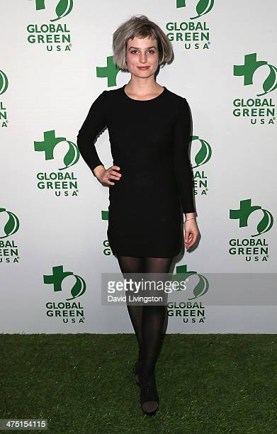 Singer Alison Sudol aka A Fine Frenzy attends Global Green USA's 11th Annual PreOscar Party at Avalon on February 26 2014 in Hollywood California
