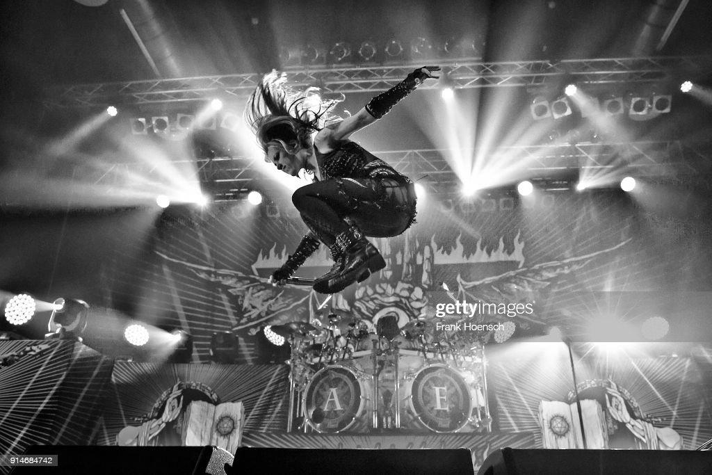 Arch Enemy Perform In Berlin : ニュース写真