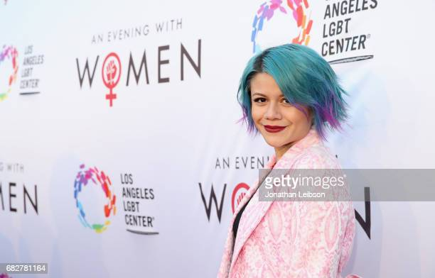 Singer Allison Iraheta at the Los Angeles LGBT Center's 'An Evening With Women' at Hollywood Palladium on May 13 2017 in Los Angeles California