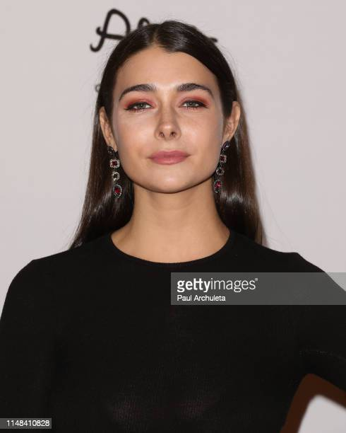Singer Allison Paige attends the 26th annual Race To Erase MS Gala at The Beverly Hilton Hotel on May 10 2019 in Beverly Hills California
