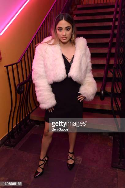 Singer Ally Brooke attends a Low Key Hang Out With Ally Brooke at Taco Electrico on January 31 2019 in New York City