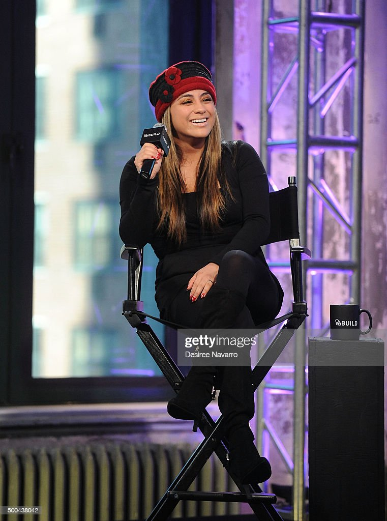 Singer Ally Brooke attends AOL Build Presents: Fifth Harmony Member Ally Brooke at AOL Studios In New York on December 8, 2015 in New York City.