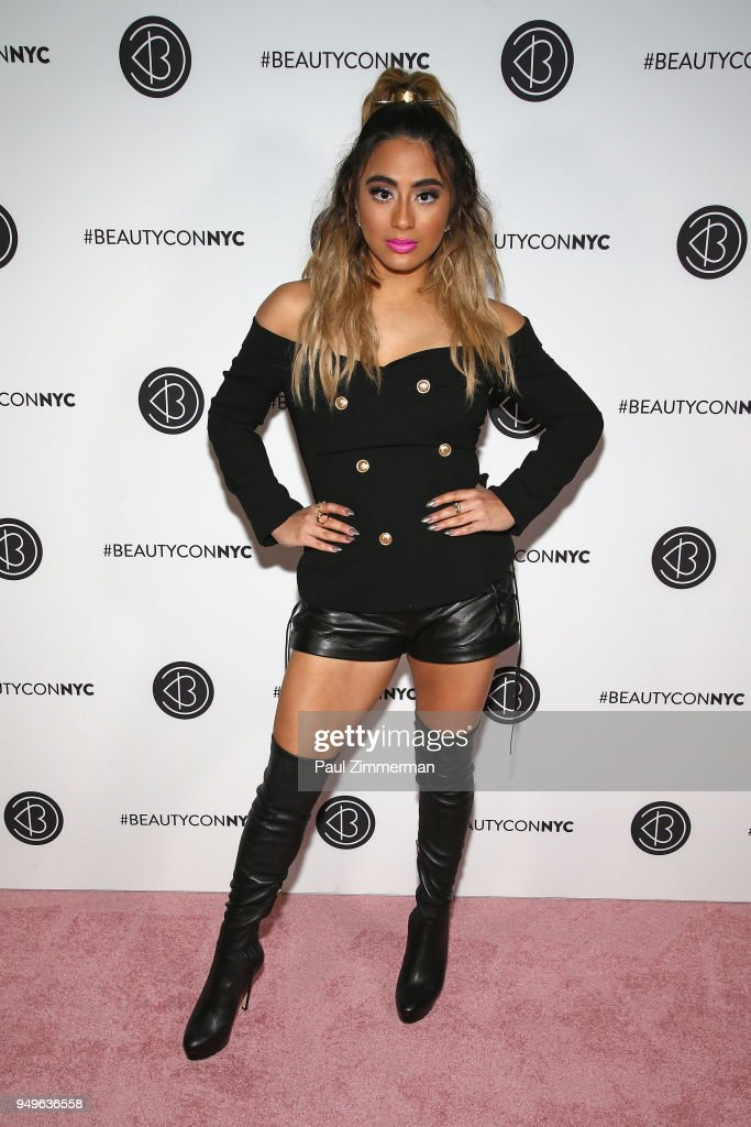 Singer Ally Brooke attends Beautycon Festival NYC 2018 - Day 1 at Jacob Javits Center on April 21, 2018 in New York City.