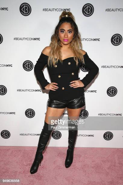 Singer Ally Brooke attends Beautycon Festival NYC 2018 Day 1 at Jacob Javits Center on April 21 2018 in New York City