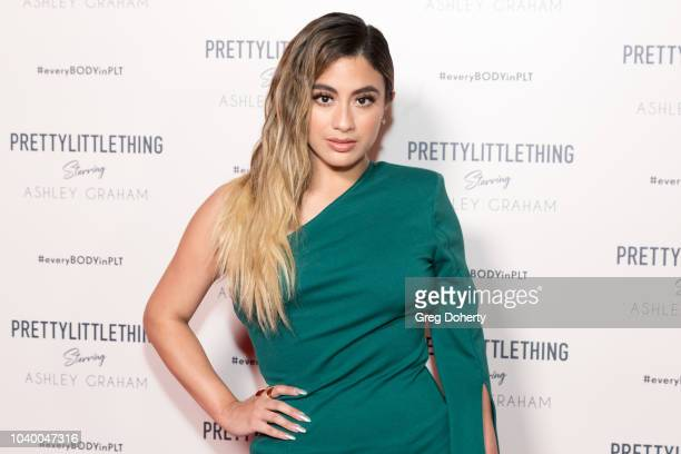 Singer Ally Brooke attends the PrettyLittleThing x Ashley Graham Event at Delilah on September 24 2018 in West Hollywood California
