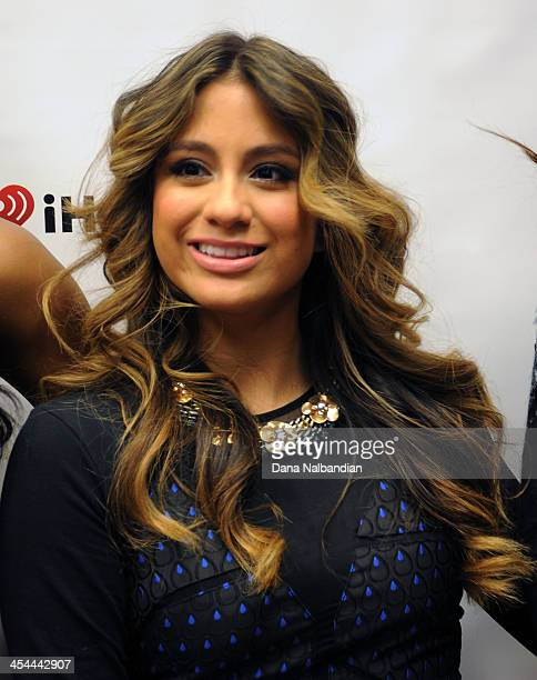 Singer Ally Brooke of Fifth Harmony on the red carpet at the Jingle Ball> at Comcast Arena at Everett on December 8 2013 in Everett Washington