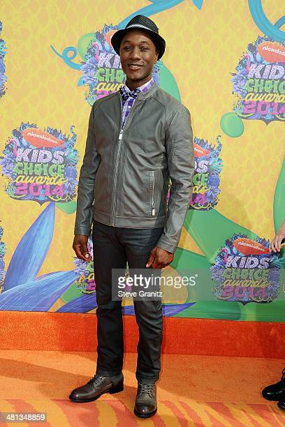 Singer Aloe Blacc attends Nickelodeon's 27th Annual Kids' Choice Awards held at USC Galen Center on March 29 2014 in Los Angeles California
