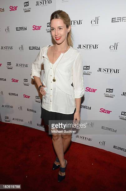 Singer Alona Tal attends Star Scene Stealers Event at Tropicana Bar at The Hollywood Rooselvelt Hotel on October 1 2013 in Hollywood California