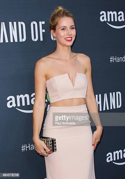 Singer Alona Tal attends the premiere of Amazon's series 'Hand Of God' at Ace Theater Downtown LA on August 19 2015 in Los Angeles California