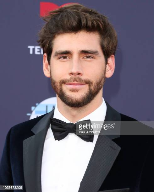 Singer Alvaro Soler attends the 2018 Latin American Music Awards at Dolby Theatre on October 25 2018 in Hollywood California