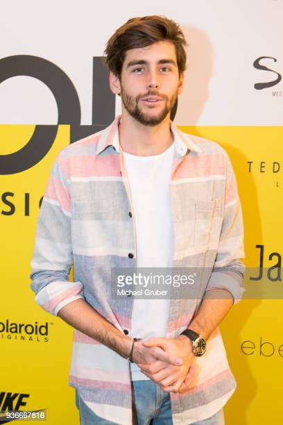 Singer Alvaro Soler during the Launch POP event on the occasion of the 20th anniversary of the Peek Cloppenburg store at Weltstadthaus on March 21...