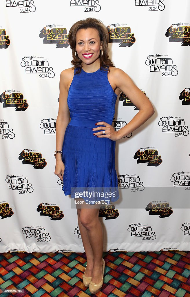 Singer Alyson Cambridge attends day 1 of the 2014 Soul Train Music Awards Gifting Suite at the Orleans Arena on November 6, 2014 in Las Vegas, Nevada.