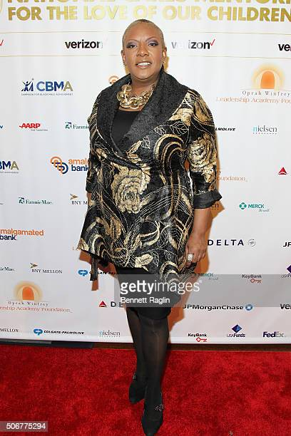 Singer Alyson Williams attends 'For the Love Of Our Children Gala' hosted by the National CARES Mentoring Movement on January 25 2016 in New York City