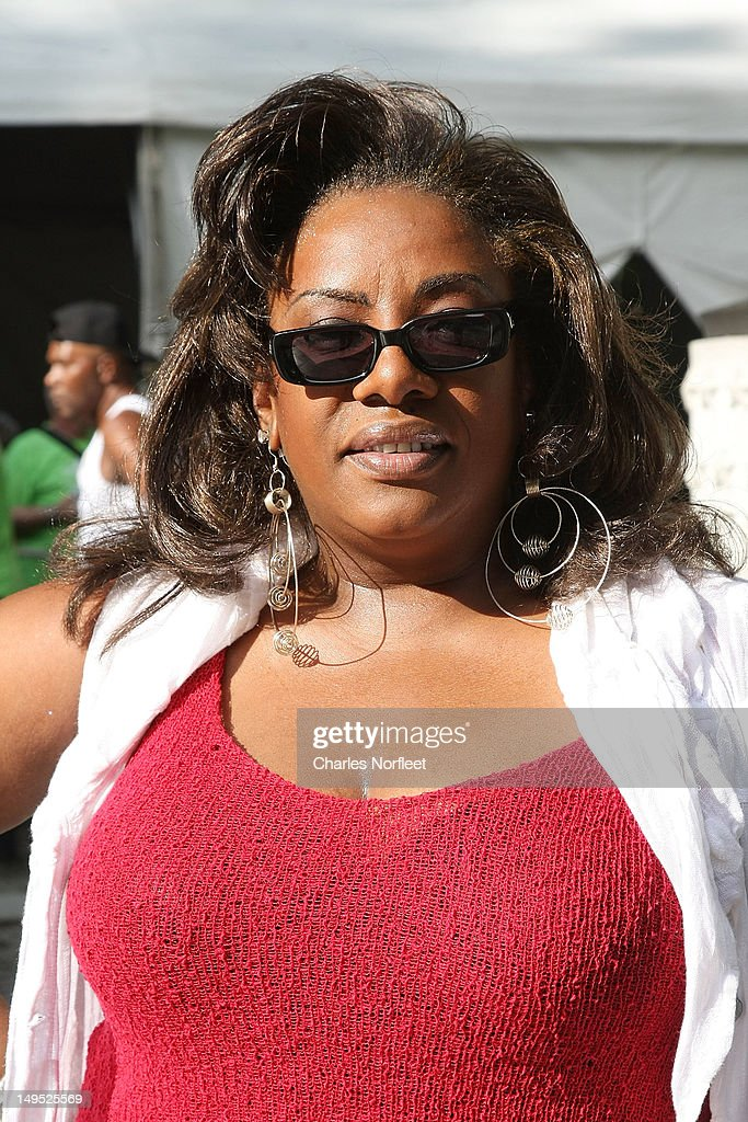 Singer Alyson Williams attends Harlem Week's 38th Anniversary Celebration at Ulysses S. Grant National Memorial Park on July 29, 2012 in New York City.