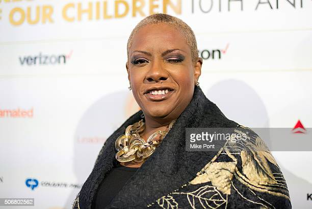 Singer Alyson Williams attends the 2016 National CARES Mentoring Movement 'For the Love Of Our Children' Gala at 583 Park Avenue on January 25 2016...