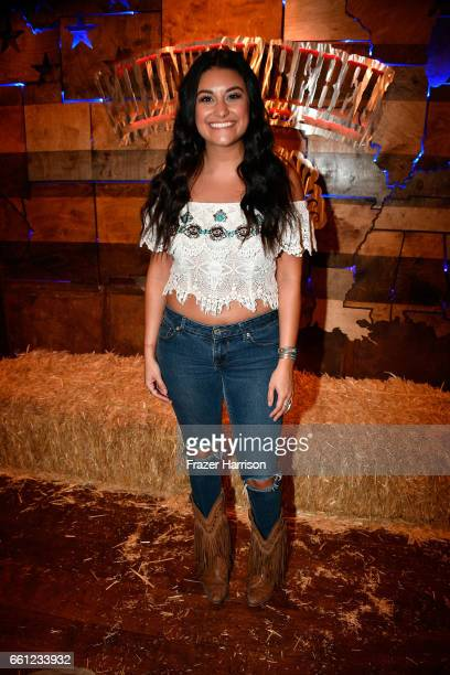Singer Alyssa Micaela attends ACM After Party For A Cause at Stoney's Rockin' Country on March 30 2017 in Las Vegas Nevada