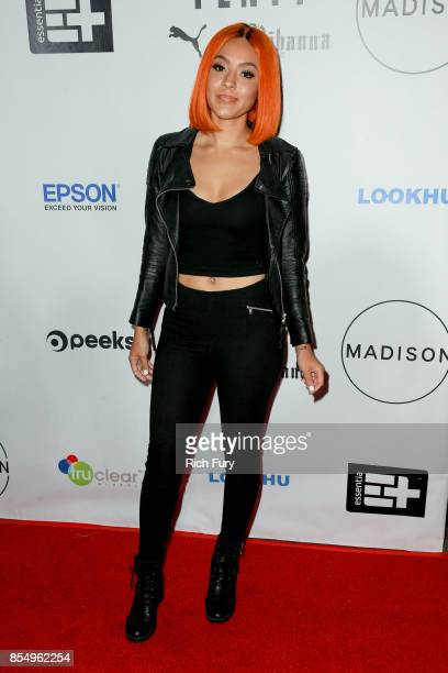 Singer Alyxx Dione attends the Fenty Puma Launch Party on September 27 2017 in Beverly Hills California