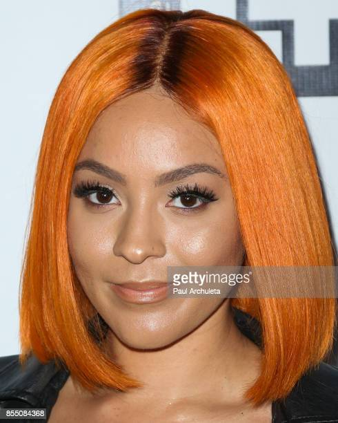 Singer Alyxx Dione attends the launch of FENTY PUMA By Rihanna A/W 2017 Collection at Madison Beverly Hills on September 27 2017 in Beverly Hills...